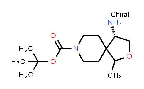 2227202-45-9 | tert-Butyl (4S)-4-amino-1-methyl-2-oxa-8-azaspiro[4.5]decane-8-carboxylate