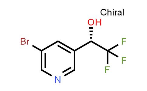 2227712-52-7   (S)-1-(5-Bromopyridin-3-yl)-2,2,2-trifluoroethan-1-ol