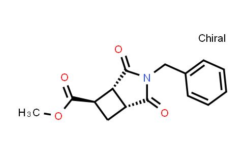 2227716-69-8   (1R,5R,6R)-Methyl 3-benzyl-2,4-dioxo-3-azabicyclo[3.2.0]heptane-6-carboxylate