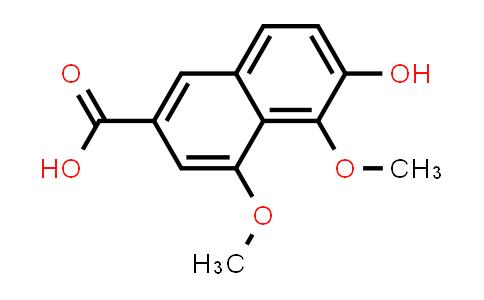 22280-85-9 | 2-Naphthalenecarboxylic acid, 6-hydroxy-4,5-dimethoxy-