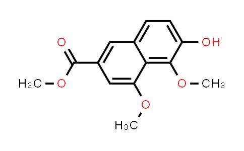 22280-86-0 | 2-Naphthalenecarboxylic acid, 6-hydroxy-4,5-dimethoxy-, methyl ester