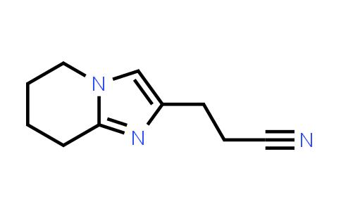 2228531-37-9 | 3-(5,6,7,8-Tetrahydroimidazo[1,2-a]pyridin-2-yl)propanenitrile