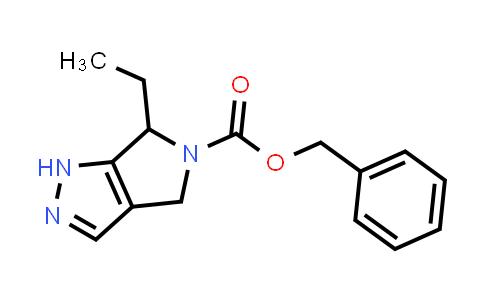 2228971-69-3   Benzyl 6-ethyl-4,6-dihydropyrrolo[3,4-c]pyrazole-5(1H)-carboxylate