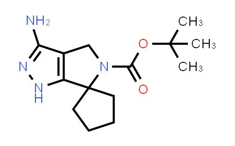 2228971-72-8   tert-Butyl 3'-amino-1',4'-dihydro-5'H-spiro[cyclopentane-1,6'-pyrrolo[3,4-c]pyrazole]-5'-carboxylate