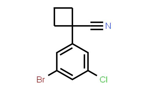 2229071-69-4   1-(3-Bromo-5-chlorophenyl)cyclobutane-1-carbonitrile