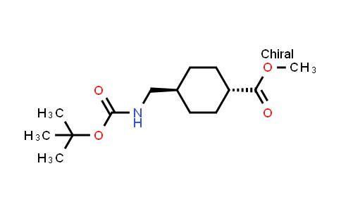 222986-86-9 | Methyl trans-4-({[(tert-butoxy)carbonyl]amino}methyl)cyclohexane-1-carboxylate