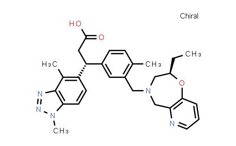 2230289-30-0 | (R)-3-(1,4-Dimethyl-1H-benzo[d][1,2,3]triazol-5-yl)-3-(3-(((R)-2-ethyl-2,3-dihydropyrido[2,3-f][1,4]oxazepin-4(5H)-yl)methyl)-4-methylphenyl)propanoic acid