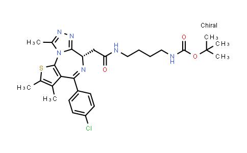 2230749-05-8   (S)-tert-Butyl (4-(2-(4-(4-chlorophenyl)-2,3,9-trimethyl-6H-thieno[3,2-f][1,2,4]triazolo[4,3-a][1,4]diazepin-6-yl)acetamido)butyl)carbamate