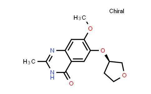 2230840-13-6 | (R)-7-Methoxy-2-methyl-6-((tetrahydrofuran-3-yl)oxy)quinazolin-4(3H)-one