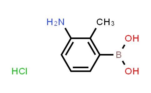 2230901-24-1   (3-Amino-2-methylphenyl)boronic acid hydrochloride