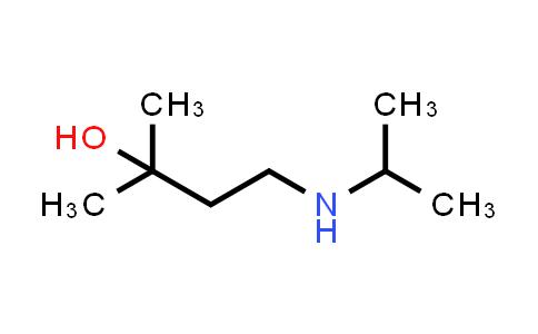 223113-79-9 | 2-Methyl-4-[(1-methylethyl)amino]-2-butanol