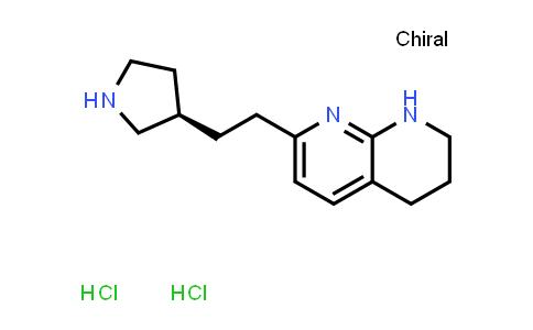 2231184-19-1 | (R)-7-(2-(Pyrrolidin-3-yl)ethyl)-1,2,3,4-tetrahydro-1,8-naphthyridine dihydrochloride