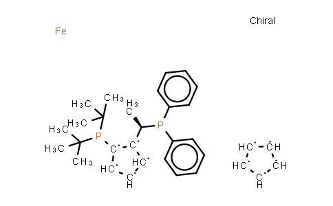 223120-71-6 | (1R)-1-[Bis(1,1-dimethylethyl)phosphino]-2-[(1R)-1-(diphenylphosphino)ethyl]ferrocene