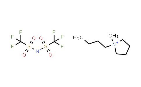 223437-11-4 | 1-Butyl-1-methylpyrrolidin-1-ium bis((trifluoromethyl)sulfonyl)amide
