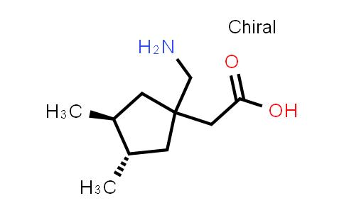 223445-75-8   2-[(3S,4S)-1-(Aminomethyl)-3,4-dimethylcyclopentyl]acetic acid