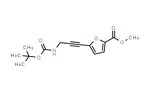 223461-83-4   Methyl 5-(3-((tert-butoxycarbonyl)amino)prop-1-yn-1-yl)furan-2-carboxylate