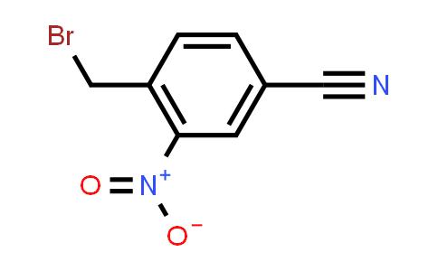 223512-70-7   4-(Bromomethyl)-3-nitrobenzonitrile