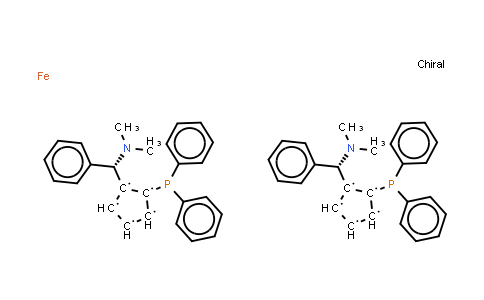 223725-09-5 | (RP,R′P)-1,1′-Bis[(S)-α-(dimethylamino)benzyl]-2,2′-bis(diphenylphosphino)ferrocene