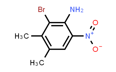 22378-67-2 | 2-Bromo-3,4-dimethyl-6-nitroaniline