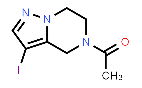 2241140-25-8   1-(3-Iodo-6,7-dihydropyrazolo[1,5-a]pyrazin-5(4H)-yl)ethan-1-one