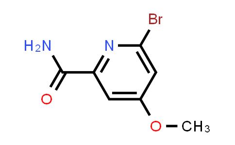 2241400-93-9 | 6-Bromo-4-methoxypicolinamide