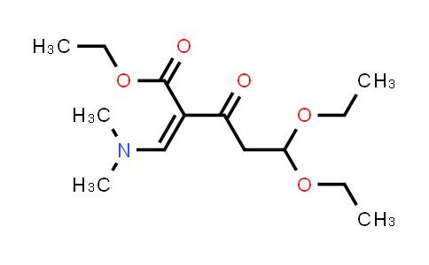 2241576-14-5 | Ethyl (Z)-2-((Dimethylamino)methylene)-5,5-diethoxy-3-oxopentanoate