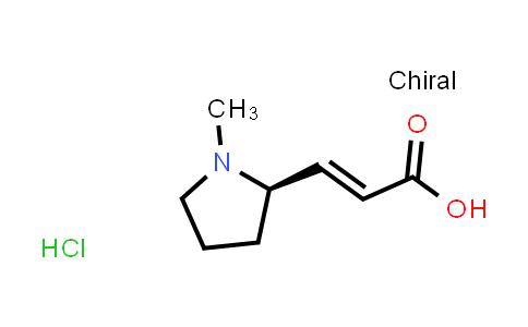 2243041-69-0 | (R,E)-3-(1-Methylpyrrolidin-2-yl)acrylic acid hydrochloride