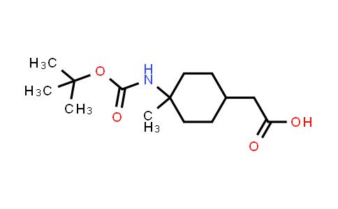 MC542384 | 2243171-75-5 | 2-(4-((tert-Butoxycarbonyl)amino)-4-methylcyclohexyl)acetic acid