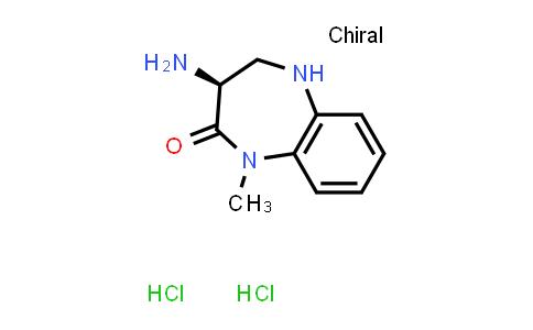 2243207-40-9 | (S)-3-Amino-1-methyl-4,5-dihydro-1H-benzo[b][1,4]diazepin-2(3H)-one dihydrochloride