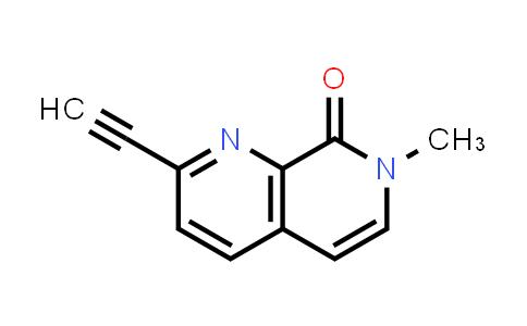 2244482-10-6   2-Ethynyl-7-methyl-1,7-naphthyridin-8(7H)-one