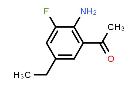 2244615-48-1   1-(2-Amino-5-ethyl-3-fluorophenyl)ethan-1-one