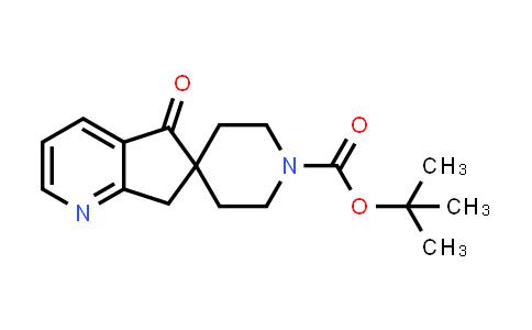 2245084-40-4   tert-Butyl 5-oxo-5,7-dihydrospiro[cyclopenta[b]pyridine-6,4'-piperidine]-1'-carboxylate