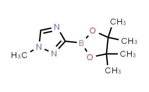 2246885-44-7 | 1-Methyl-3-(4,4,5,5-tetramethyl-1,3,2-dioxaborolan-2-yl)-1H-1,2,4-triazole