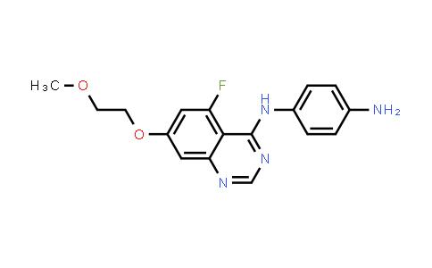 2248003-88-3 | N1-(5-Fluoro-7-(2-methoxyethoxy)quinazolin-4-yl)benzene-1,4-diamine