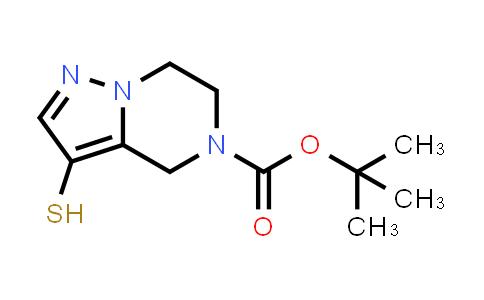 2248273-11-0 | tert-Butyl 3-mercapto-6,7-dihydropyrazolo[1,5-a]pyrazine-5(4H)-carboxylate