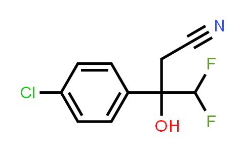 2250358-49-5   3-(4-Chlorophenyl)-4,4-difluoro-3-hydroxybutanenitrile