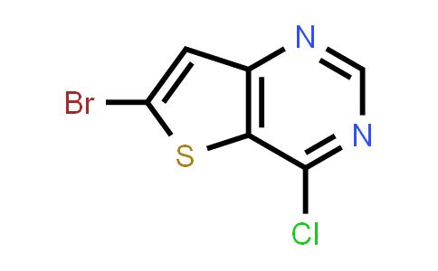 225385-03-5   6-Bromo-4-chlorothieno[3,2-d]pyrimidine