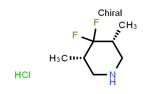 2253880-94-1   rel-(3R,5S)-4,4-Difluoro-3,5-dimethylpiperidine hydrochloride