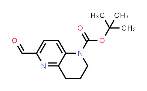 2254054-03-8   tert-Butyl 6-formyl-3,4-dihydro-1,5-naphthyridine-1(2H)-carboxylate