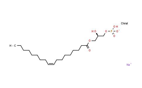 22556-62-3   Sodium 1-oleoyl lysophosphatidic acid