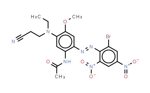 22578-86-5 | N-2-(2-Bromo-4,6-dinitrophenyl)azo-5-(2-cyanoethyl)ethylamino-4-methoxyphenylacetamide