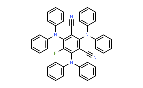 2260543-73-3   2,4,6-Tris(diphenylamino)-5-fluoroisophthalonitrile