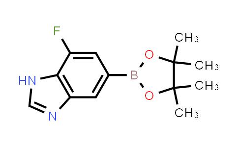 2260683-54-1   7-Fluoro-5-(4,4,5,5-tetramethyl-1,3,2-dioxaborolan-2-yl)-1H-benzo[d]imidazole