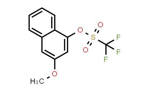 226072-71-5 | 3-Methoxynaphthalen-1-yl trifluoromethanesulfonate