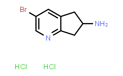 2260937-61-7   3-Bromo-6,7-dihydro-5H-cyclopenta[b]pyridin-6-amine dihydrochloride