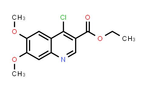 MC545552 | 26893-14-1 | Ethyl 4-chloro-6,7-dimethoxyquinoline-3-carboxylate