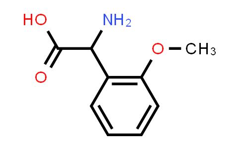 DY545700 | 271583-17-6 | 2-Amino-2-(2-methoxyphenyl)acetic acid