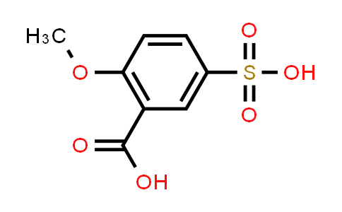 MC550023 | 34556-95-1 | 2-Methoxy-5-sulfobenzoic acid