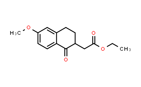 MC557232 | 50558-96-8 | Ethyl 2-(6-methoxy-1-oxo-1,2,3,4-tetrahydronaphthalen-2-yl)acetate