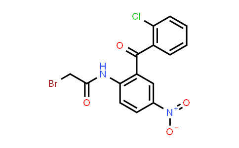 52130-87-7 | 2-Bromo-N-(2-(2-chlorobenzoyl)-4-nitrophenyl)acetamide